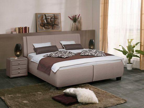 ADA premium Polsterbett »Solara«, inkl. Lattenrost und Stauraum, wahlweise mit Matratze