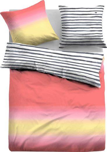 Wendebettwäsche »Martha«, TOM TAILOR, mit schönem Farbverlauf