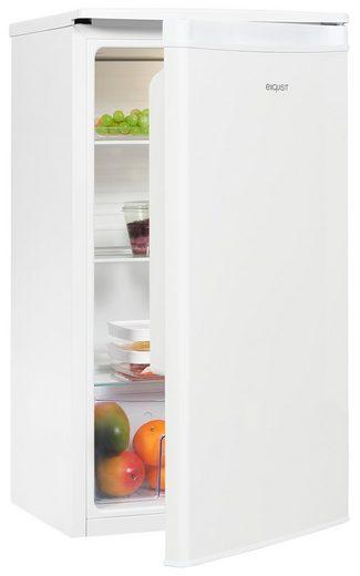 exquisit Kühlschrank KS85-V-090F, 84.5 cm hoch, 45 cm breit, kompakt und leistungsstark, ideal für den kleinen Haushalt