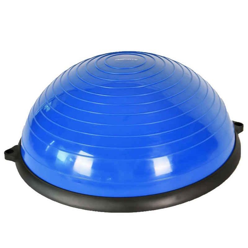 MSports® Stabilisations-Therapiegerät »MSPORTS Balance Ball Trainer Premium Gymnastikball + Expander & Pumpe - beidseitig nutzbar Balance Trainer/Board für Gleichgewichtsübungen«