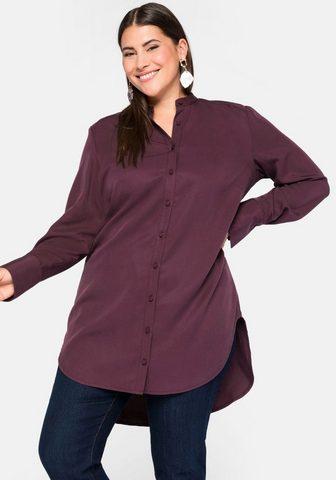 Sheego Ilgi marškiniai su nedidelis Stehkrage...