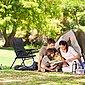 relaxdays Campingstuhl »3 x Campingstuhl gepolstert«, Bild 3
