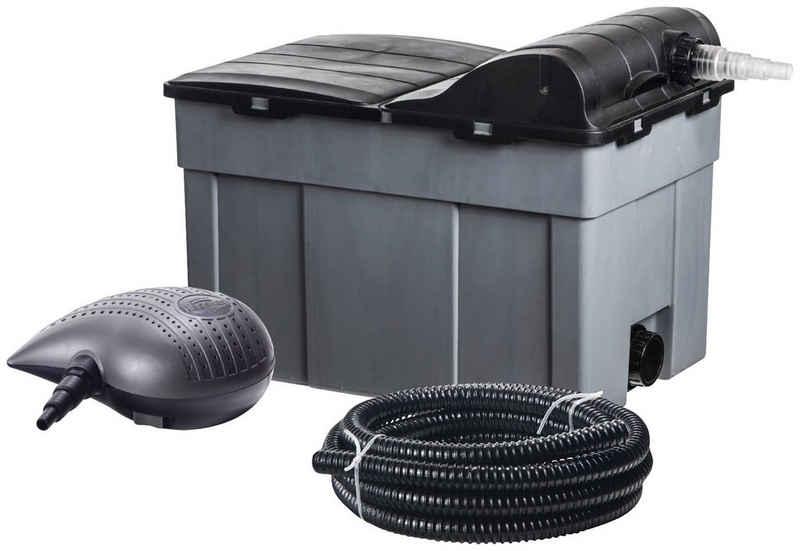 Heissner Teichfilter »FPU16000-Set«, mit UVC-Klärer, Förderleistung: 3.300 l/h