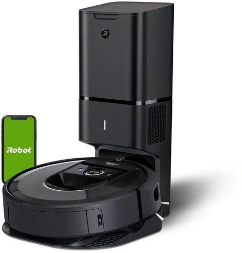 iRobot Saugroboter Roomba i7+ (i7558), mit automatischer Absaugstation