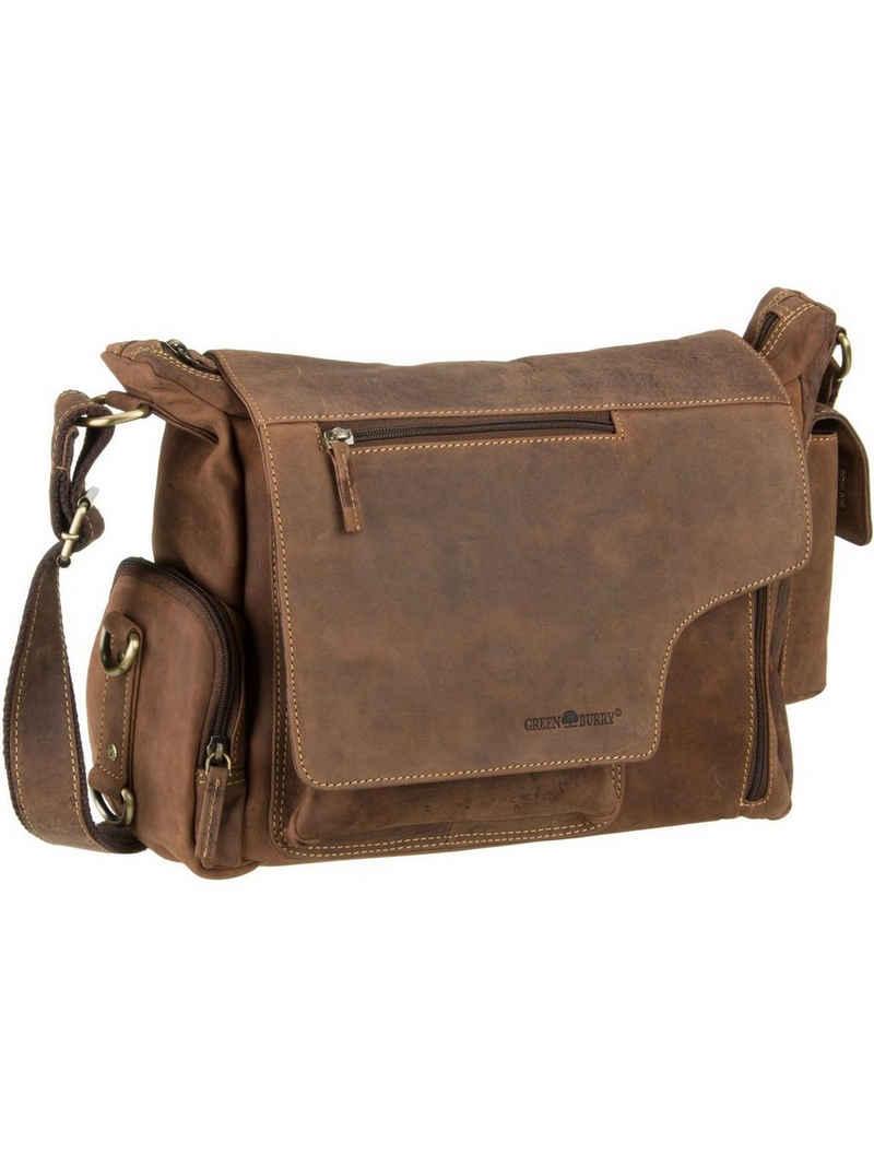 Greenburry Umhängetasche »Vintage New Hunting Bag II«, Umhängetaschen Querformat