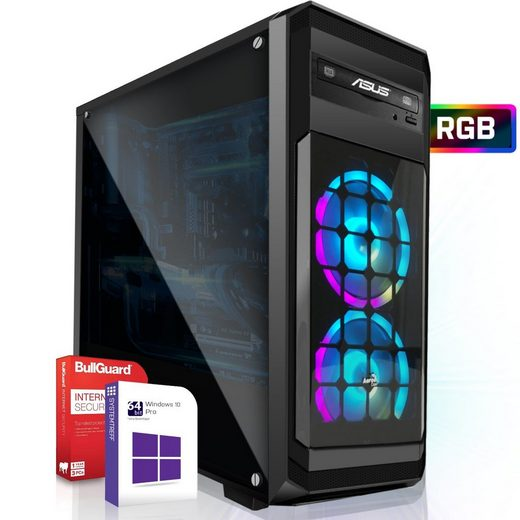 SYSTEMTREFF Pro Gaming Edition 40243 Gaming-PC (Intel Intel Core i7 9700K Core i7 9700K, Nvidia Geforce GTX 1650 4 GB, 8 GB RAM)