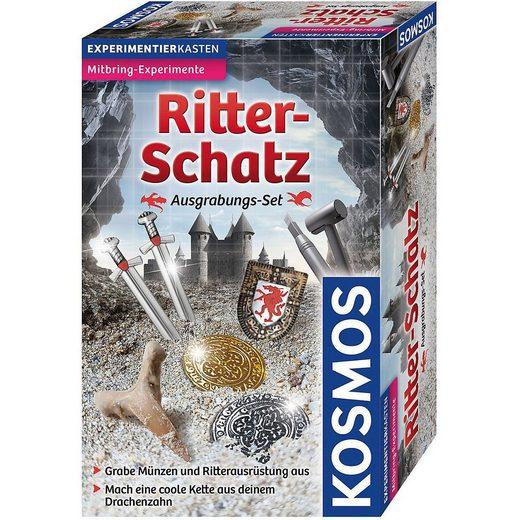 Kosmos Lernspielzeug »Ausgrabungs-Set Ritter-Schatz«