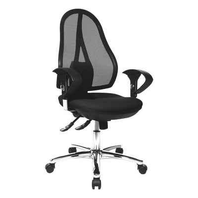 TOPSTAR Schreibtischstuhl »Open Point SY Deluxe«, mit ergonomischem Netzrücken