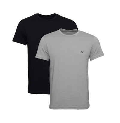 Emporio Armani T-Shirt »Rundhals mit Eagle-Logo« (2er-Pack)