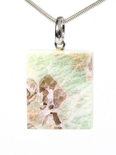 Adelia´s Kettenanhänger »Schriftgranit Anhänger 925 Silber«