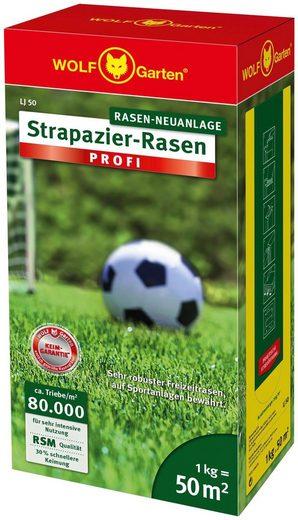 WOLF-Garten Rasensamen »LJ 50 Strapazier-Rasen PROFI«, 1,0 kg