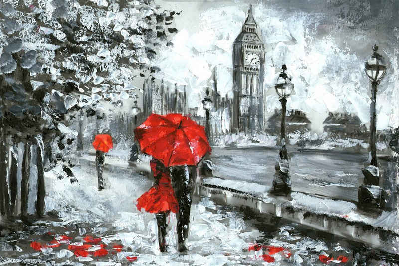 queence Leinwandbild »London«