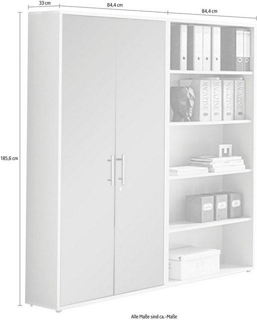 Büromöbel Sets - BMG Büro Set »TABOR 1 hoch«, (Set, 2 tlg)  - Onlineshop OTTO