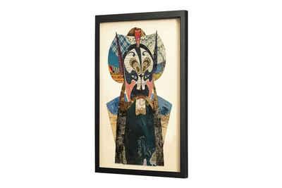 KUNSTLOFT Bilder-Collage »Mystery to the Eye«, trendiges Frame Art 3D Bild