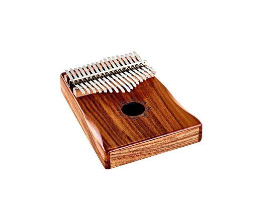 ORTEGA Guitars Klavier »Lizard Series Kalimba 17 Zungen C Dur«, Inkl. Etui, Stofftäschchen, Stimmhammer, Poliertuch