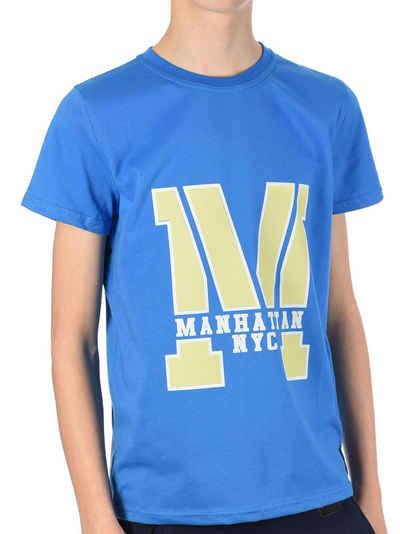 BEZLIT T-Shirt »Jungen T-Shirt mit Manhatan« (1-tlg) T-Shirt