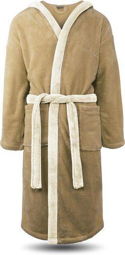 Bademantel »Bademantel Flauschig«, normani, Gemütlicher Hausmantel aus Polyester-Fleece