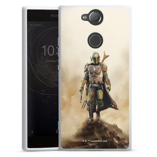 DeinDesign Handyhülle »The Mandalorian Rock« Sony Xperia XA 2, Hülle Star Wars Film The Mandalorian