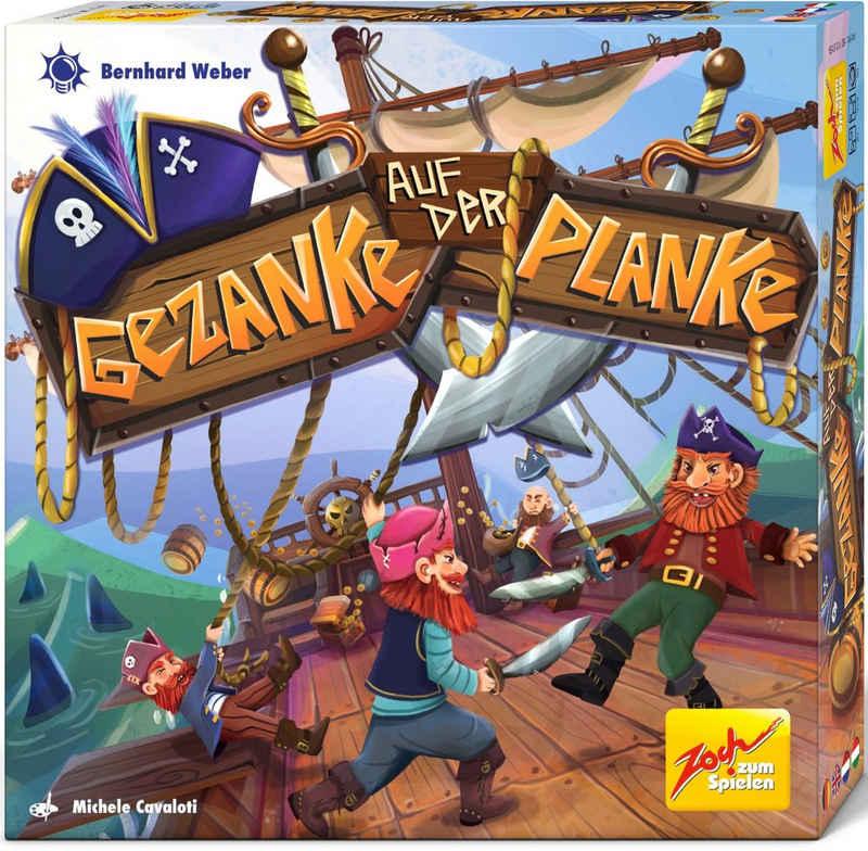 Zoch Spiel, Kinderspiel »Gezanke auf der Planke«