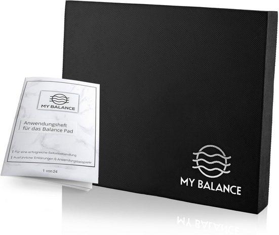 My Balance Balance Pad »My Balance® Balance Pad + GRATIS Anwendungsheft 24seitig, Innovatives Balance-Kissen als Gymnastikmatte zur Verbesserung deiner Fitness-Koordination, Stabilität oder als Therapie Pad zum Reha-Sport«