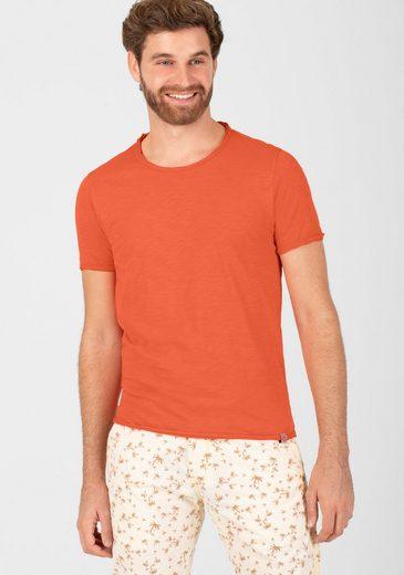 TIMEZONE T-Shirt »Basic Slub T-Shirt«