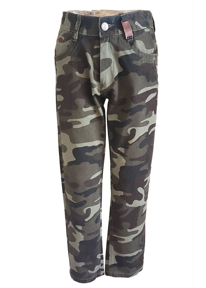 family trends -  Stoffhose im Military-Look