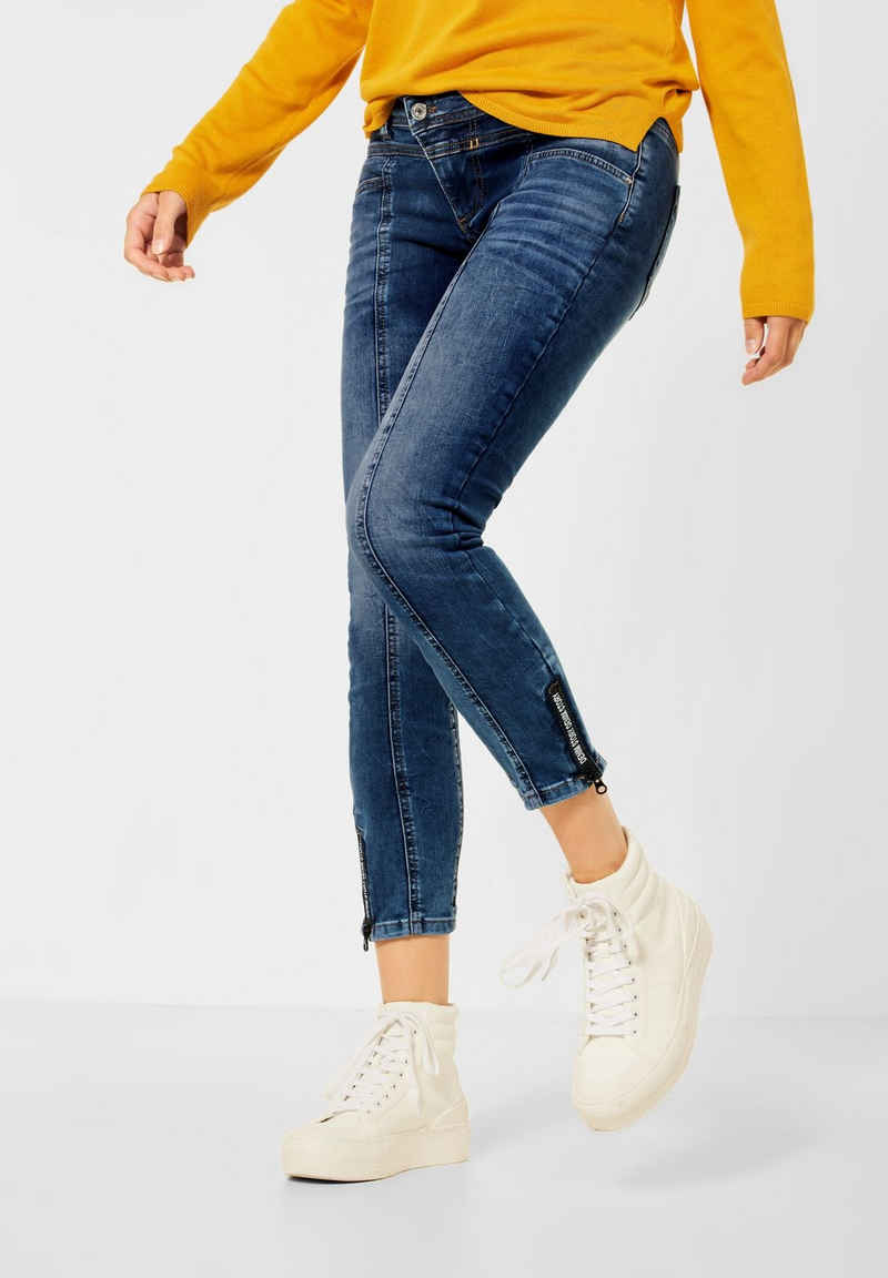 STREET ONE Comfort-fit-Jeans 4-Pocket Style