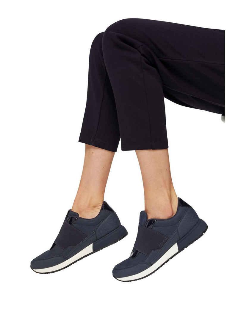 Esprit »Sneakers mit Gummizug in Lederoptik« Sneaker