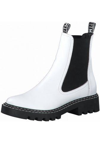 Tamaris »MATTINA« Chelseaboots im Kontrast-Loo...