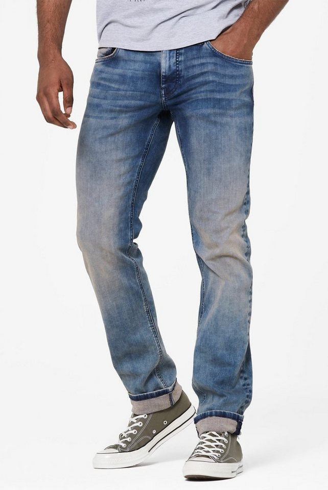 harlem soul -  Slim-fit-Jeans mit Stretch-Anteil