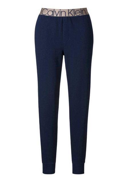 Hosen - Calvin Klein Relaxhose mit seitlichen Eingrifftaschen und eingewebtem Logo im Bund ›  - Onlineshop OTTO