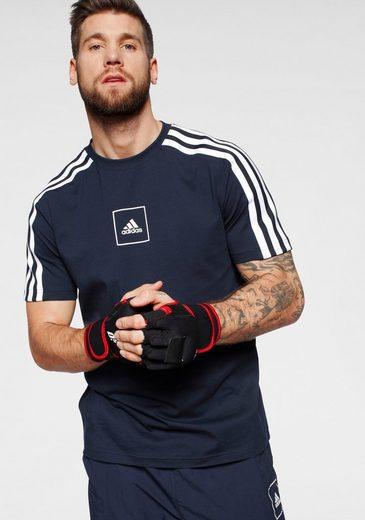 adidas Performance T-Shirt »3 STRIPES PAPE TEE«
