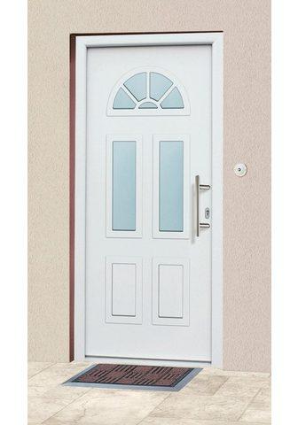 KM Zaun Haustür »A02« BxH: 98x208 cm weiß in 2...