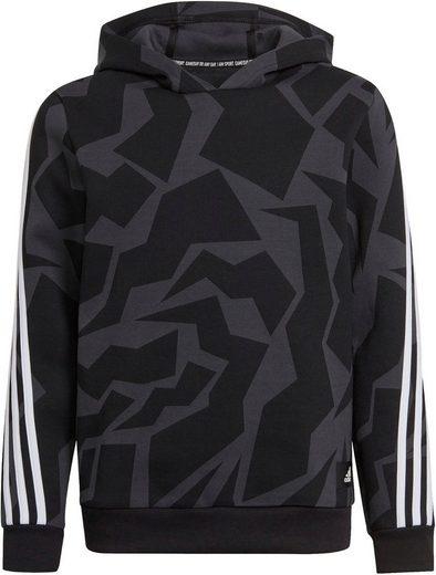 adidas Performance Kapuzensweatshirt »3 STRIPES GRAPHIC HOODIE«
