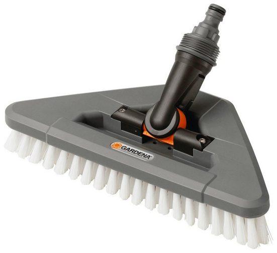 Reinigungsbürste »05562-20«, GARDENA, für robuste Oberflächen, 27 cm Arbeitsbreite