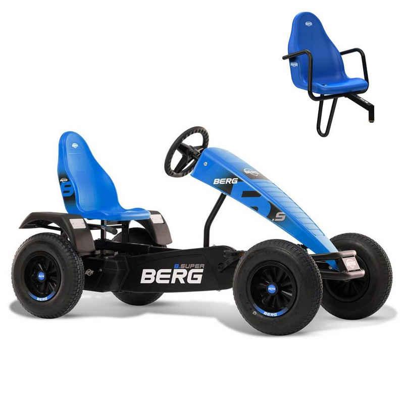 Berg Go-Kart »BERG Gokart B.Super Blue blau XXL BFR inkl. Sozius«, mit Zweitsitz