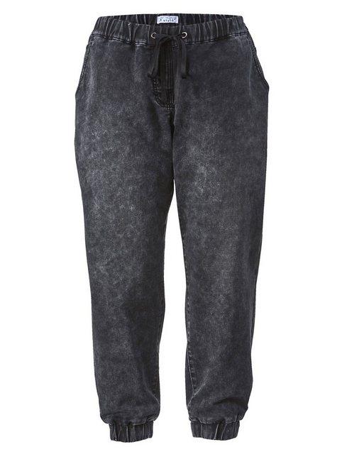 Hosen - Angel of Style by HAPPYsize Jogg Pants mit Tunnelzug ›  - Onlineshop OTTO