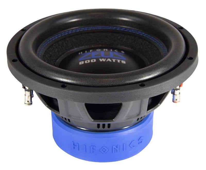 Hifonics Subwoofer (Hifonics ZXS 10D2 - ZXS 10D2 25 cm (10) Subwoofer 2+2 Ω, Leistung 400 W RMS / 800 W max)