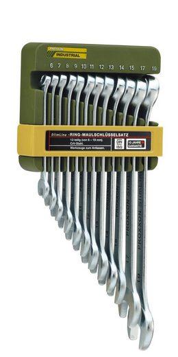 PROXXON Maulschlüsselsatz »Ring-Maulschlüsselsatz, 6 - 19 mm«, (12-tlg.)