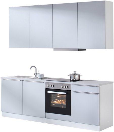 HELD MÖBEL Küchenzeile »Cannes«, mit E-Geräten, Breite 240 cm
