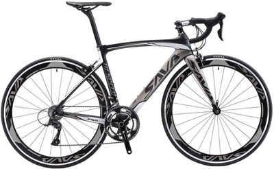 SAVA Rennrad »SAVA Warwind5.0 Carbon Rennrad 700C Shimano105 R7000 22 Fach«, 22 Gang