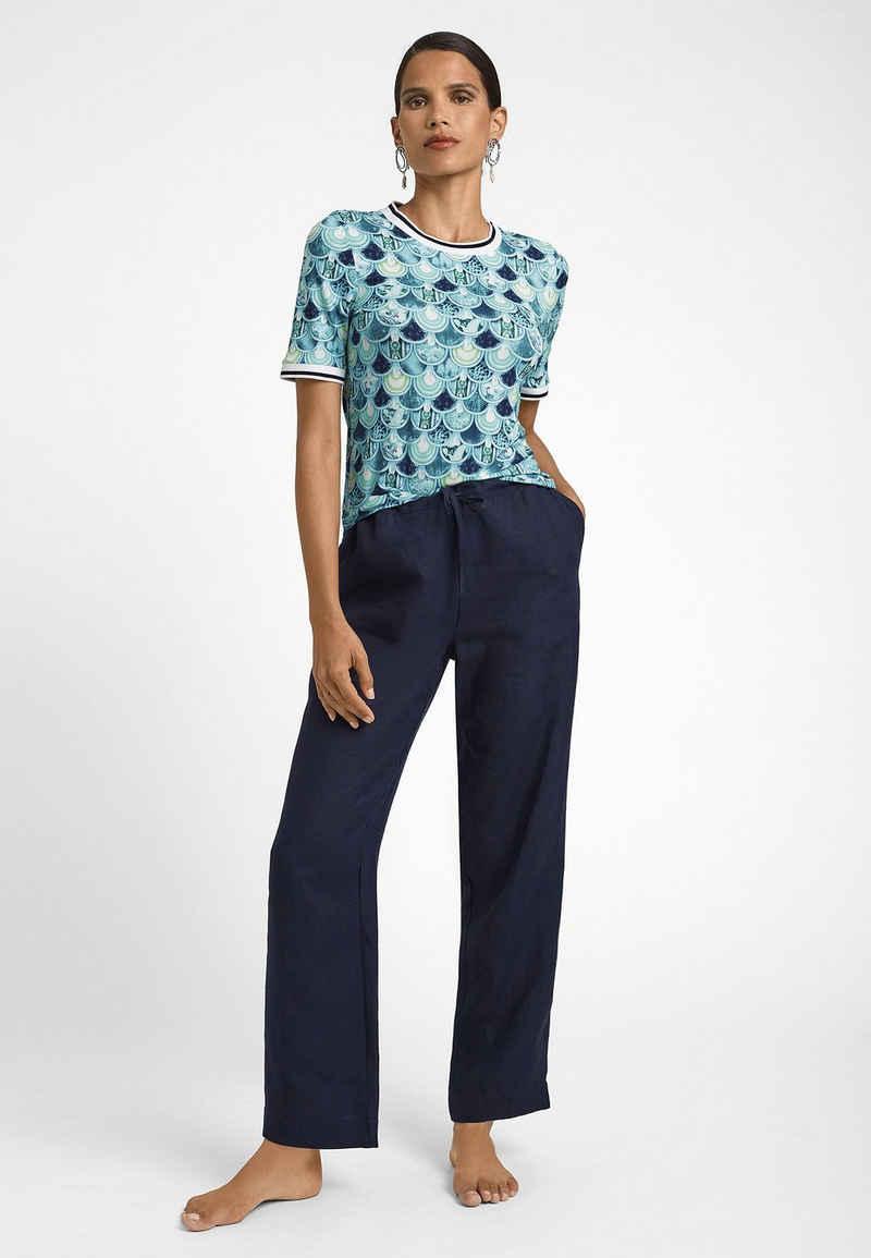 MADELEINE Rundhalsshirt »Bedrucktes Shirt mit Kurzarm«