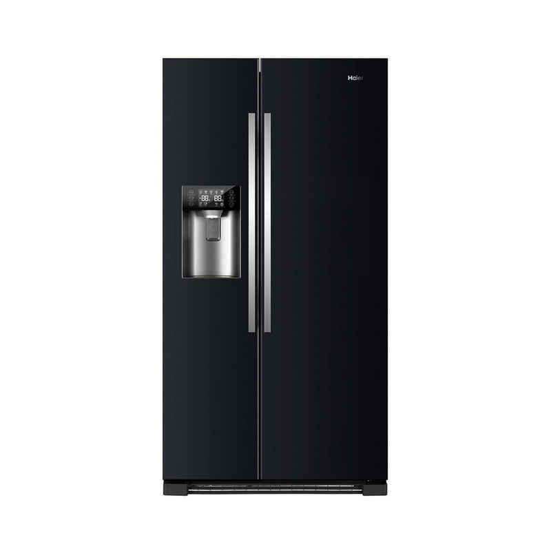 Haier Kühlschrank HRF-630IB7, 179 cm hoch, 91 cm breit, A++ SidebySide, Wasser- und Eisspender + Ice Crusher