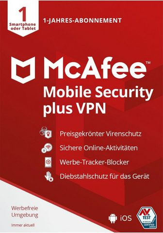McAfee Mobile Security Plus Android/iOS - 1 J...