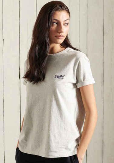 Superdry T-Shirt »ORANGE LABEL CLASSIC TEE« aus Bio-Baumwolle