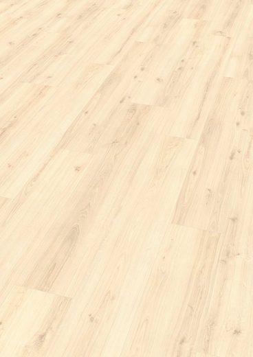 EGGER Designboden »HOME Design Eiche dezent weiß«, Packung, pflegeleicht, 4-Seitige Fase 1,989 m²/Pkt., Stärke:5 mm