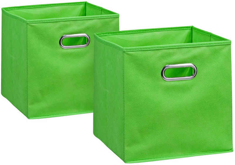 Zeller Present Aufbewahrungsbox (Set, 2 Stück), 28 x 28 cm