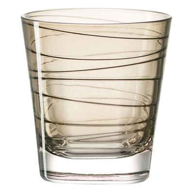 LEONARDO Glas »Vario Struttura Braun 170 ml«, Glas