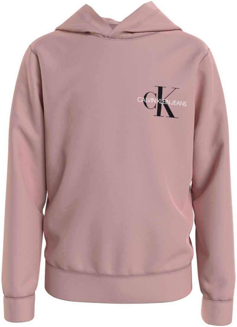 Calvin Klein Jeans Kapuzensweatshirt »SMALL MONOGRAM HOODIE« mit kleinem Logo
