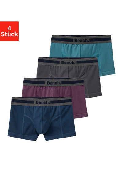 Bench. Boxer (4 Stück) mit Overlock-Nähten vorn